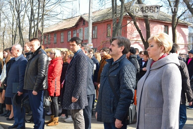 В Черноморске прошёл флешмоб «Сердце Кобзаря», фото-25