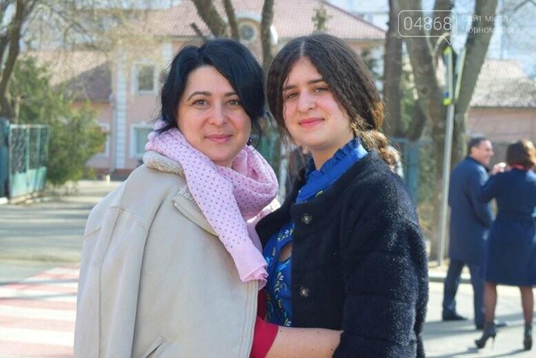 В Черноморске прошёл флешмоб «Сердце Кобзаря», фото-10