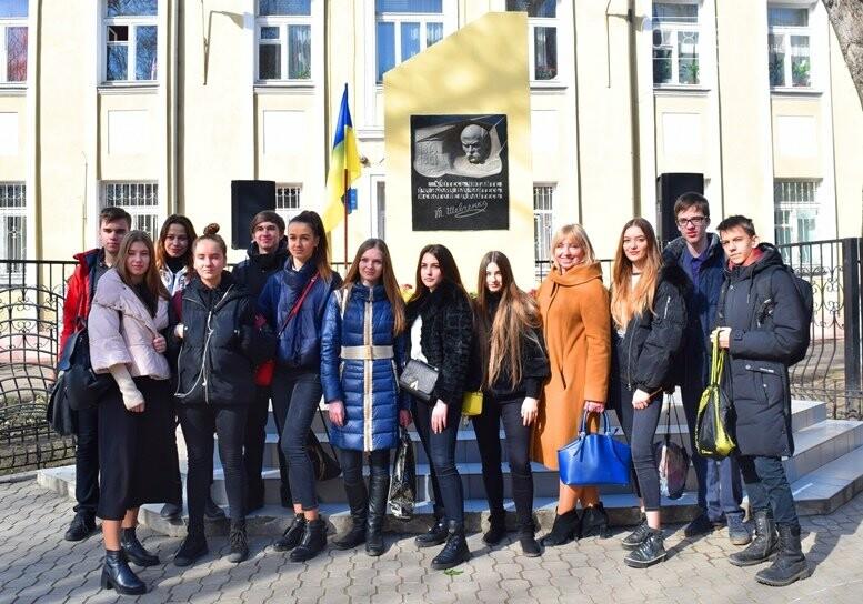 В Черноморске прошёл флешмоб «Сердце Кобзаря», фото-8