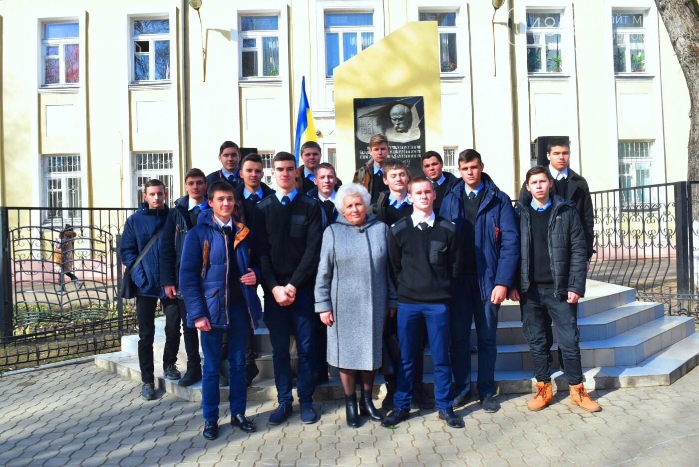 В Черноморске прошёл флешмоб «Сердце Кобзаря», фото-27