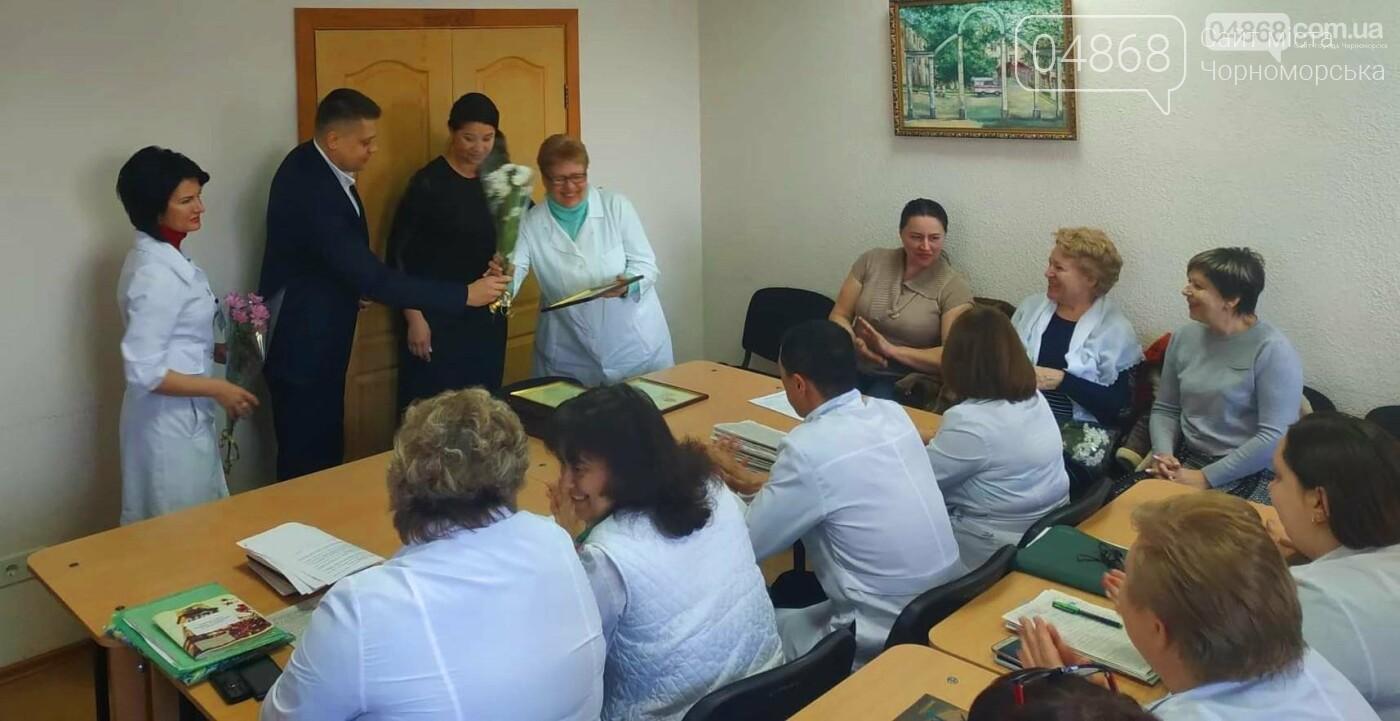 Медработников Черноморска поздравили с Международным женским днем, фото-2