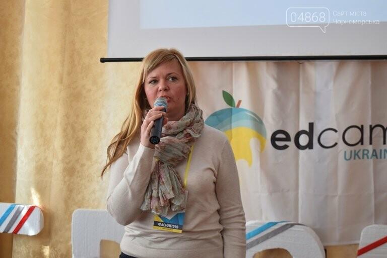 В Черноморске торжественно открыли грандиозный форум EdCamp Chornomorsk (видео), фото-10