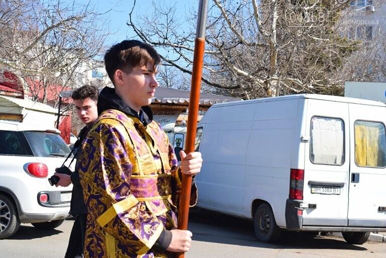 В Черноморске прошёл Крестный ход с молитвой о мире, фото-8