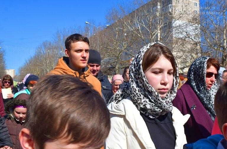 В Черноморске прошёл Крестный ход с молитвой о мире, фото-12
