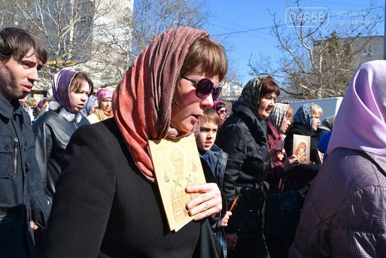 В Черноморске прошёл Крестный ход с молитвой о мире, фото-2