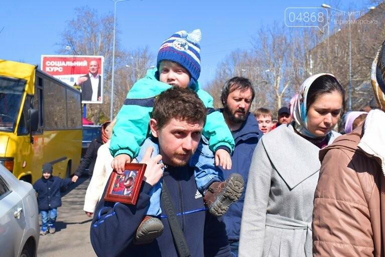 В Черноморске прошёл Крестный ход с молитвой о мире, фото-3