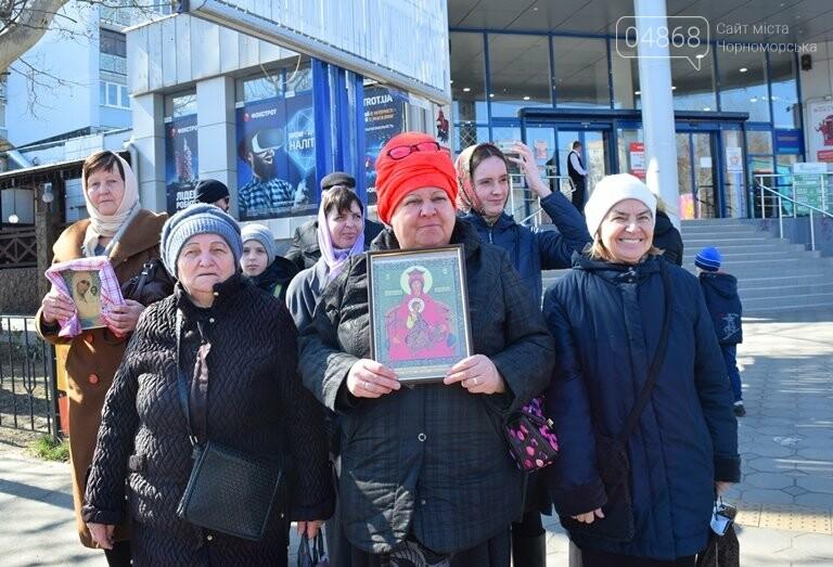 В Черноморске прошёл Крестный ход с молитвой о мире, фото-6