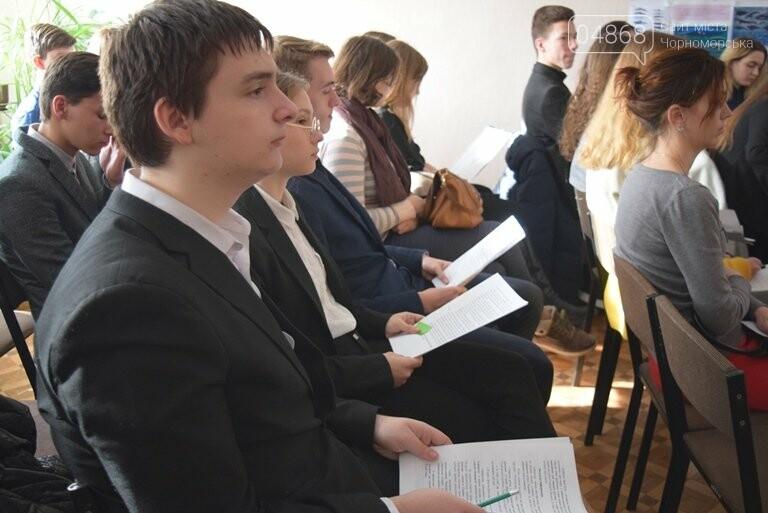 Старшеклассники Черноморска обсуждали актуальные экологические проблемы (видео), фото-5