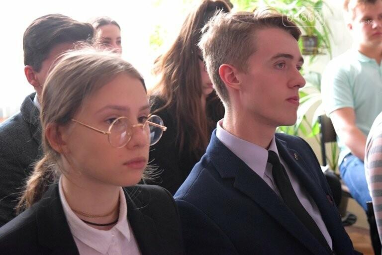 Старшеклассники Черноморска обсуждали актуальные экологические проблемы (видео), фото-3
