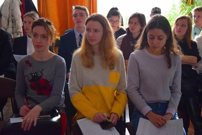 Старшеклассники Черноморска обсуждали актуальные экологические проблемы (видео), фото-6