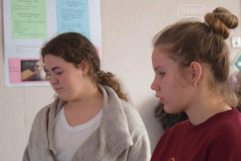 Старшеклассники Черноморска обсуждали актуальные экологические проблемы (видео), фото-20