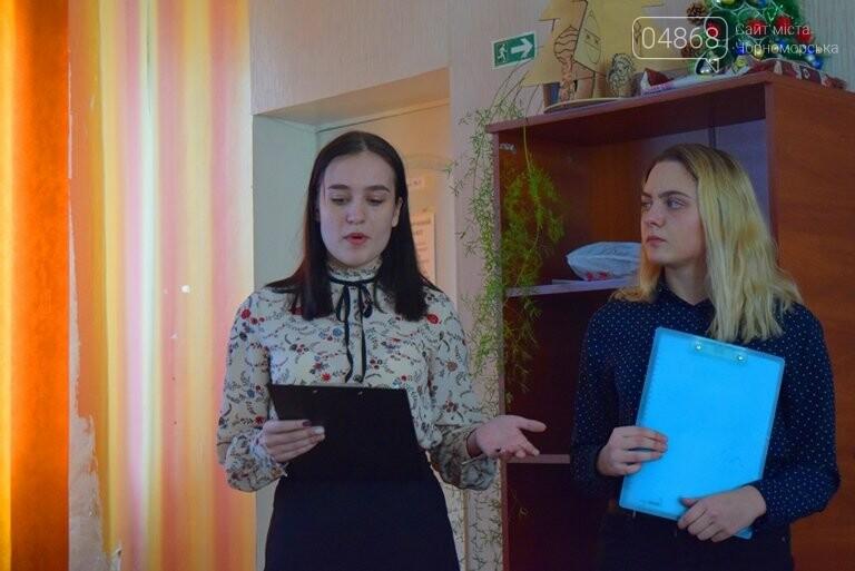 Старшеклассники Черноморска обсуждали актуальные экологические проблемы (видео), фото-24
