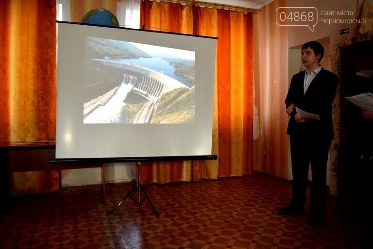 Старшеклассники Черноморска обсуждали актуальные экологические проблемы (видео), фото-27