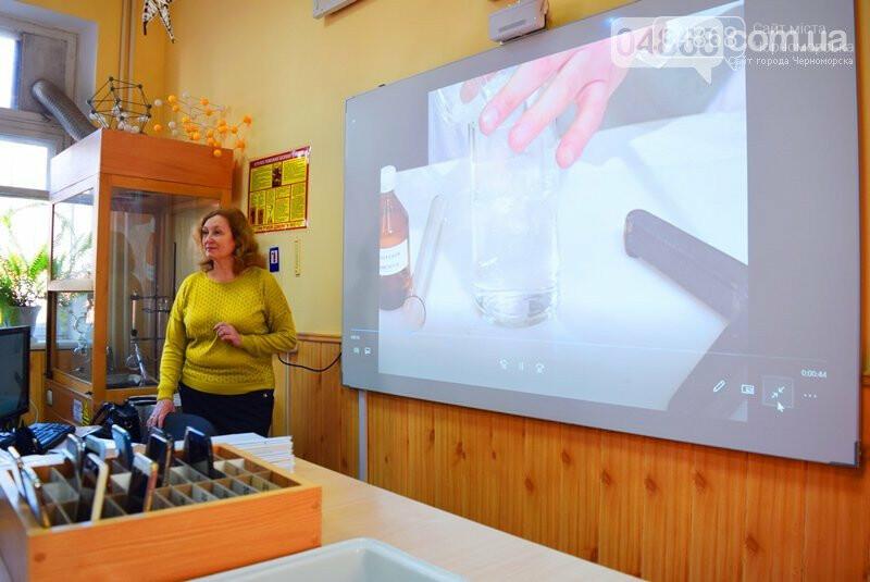 В гимназии Черноморска рассказали, как онлайн-платформа Be smart влияет на уровень обучения (видео), фото-5