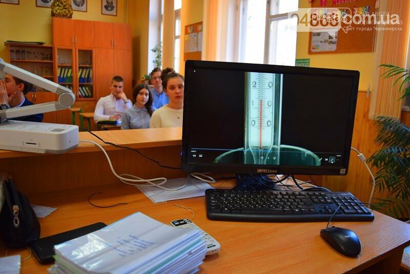 В гимназии Черноморска рассказали, как онлайн-платформа Be smart влияет на уровень обучения (видео), фото-1