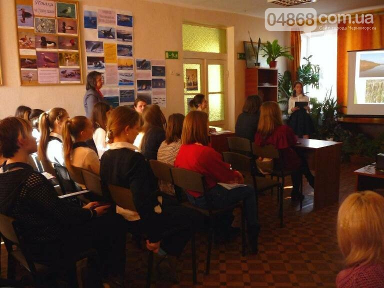 «По рекам и лиманам Одесской области»: школьники Черноморска обсуждали экологические проблемы, фото-12