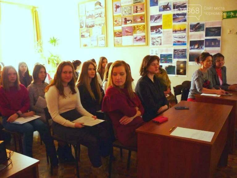 «По рекам и лиманам Одесской области»: школьники Черноморска обсуждали экологические проблемы, фото-6