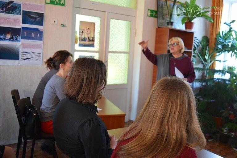 «По рекам и лиманам Одесской области»: школьники Черноморска обсуждали экологические проблемы, фото-4