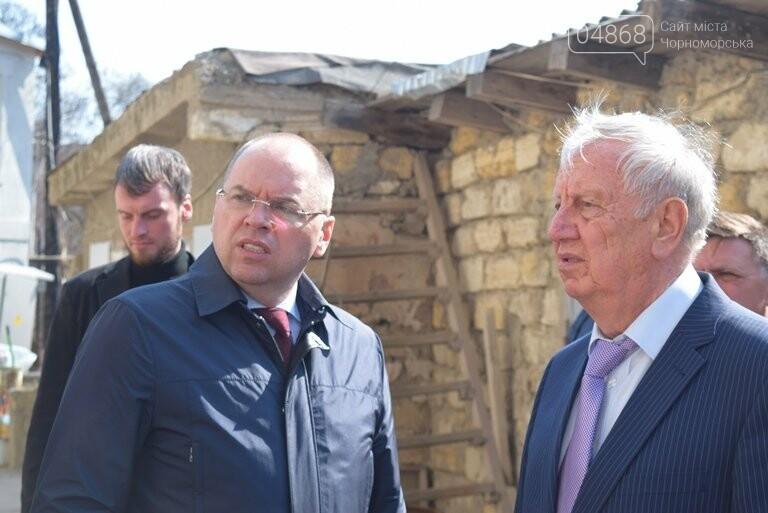 Черноморск с рабочим визитом посетил губернатор области Максим Степанов (видео), фото-2