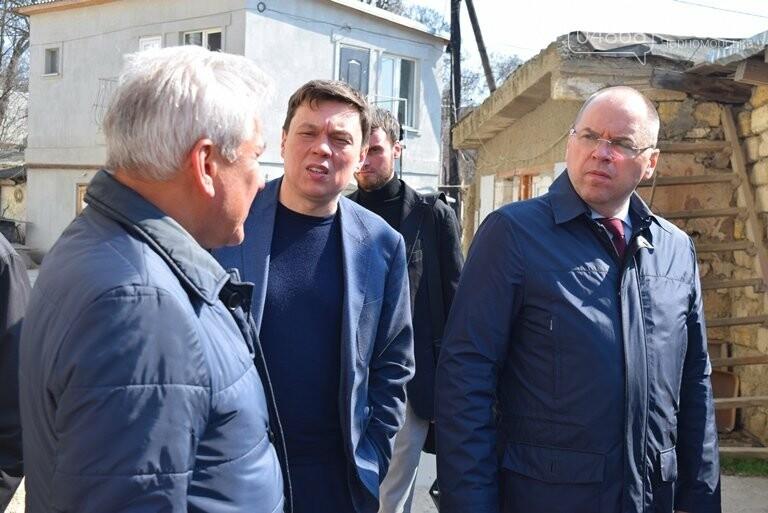 Черноморск с рабочим визитом посетил губернатор области Максим Степанов (видео), фото-15