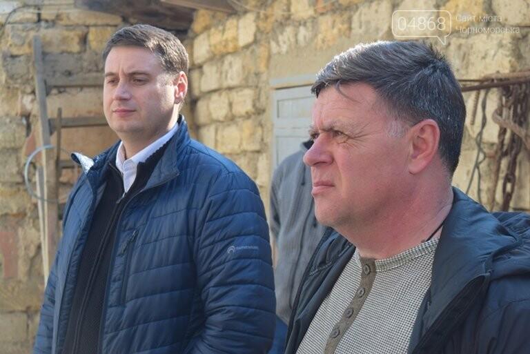 Черноморск с рабочим визитом посетил губернатор области Максим Степанов (видео), фото-17