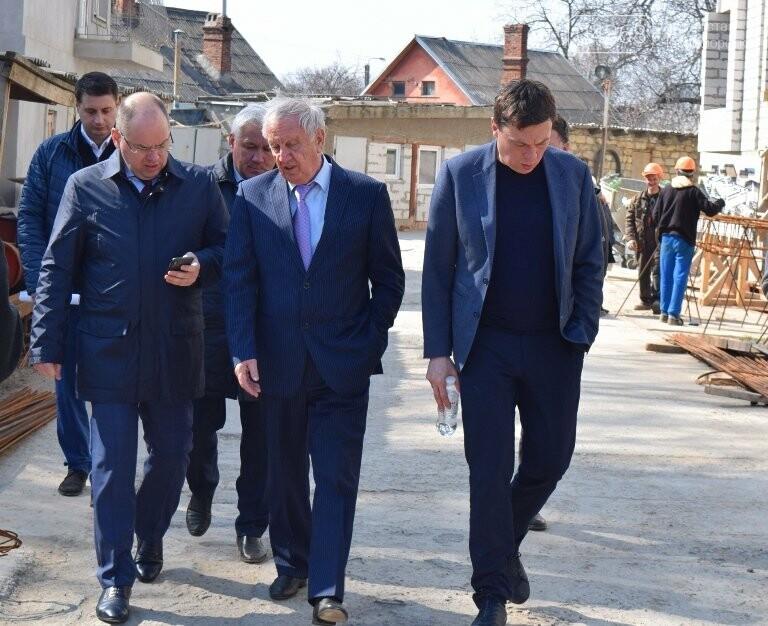 Черноморск с рабочим визитом посетил губернатор области Максим Степанов (видео), фото-14