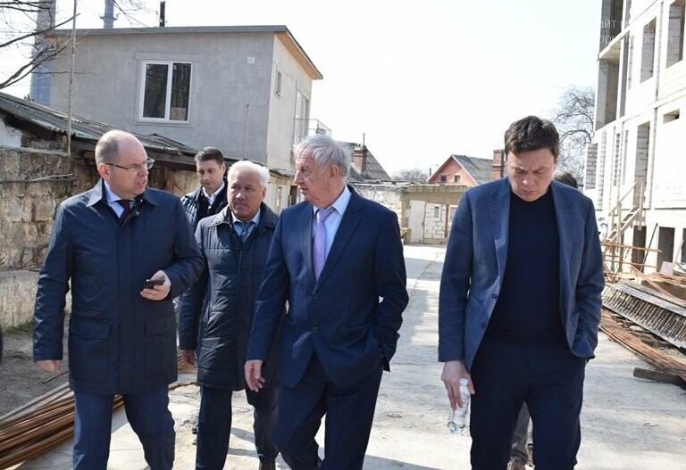Черноморск с рабочим визитом посетил губернатор области Максим Степанов (видео), фото-16