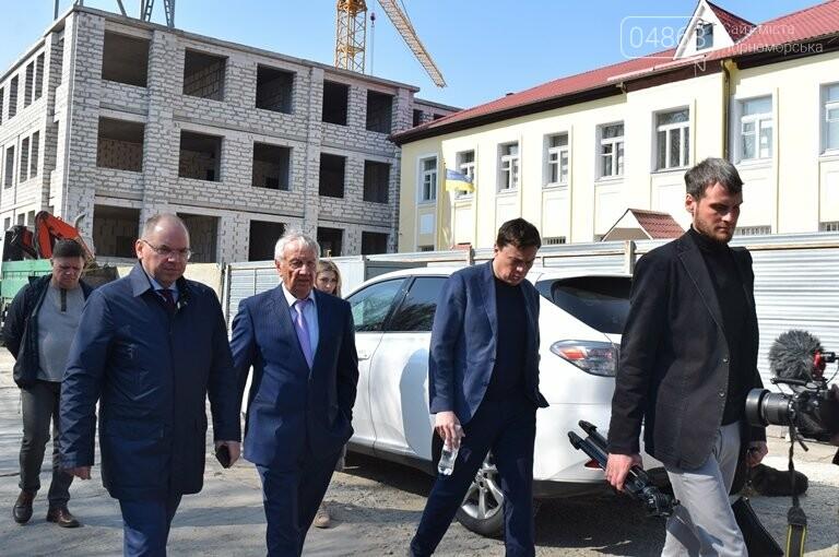 Черноморск с рабочим визитом посетил губернатор области Максим Степанов (видео), фото-3