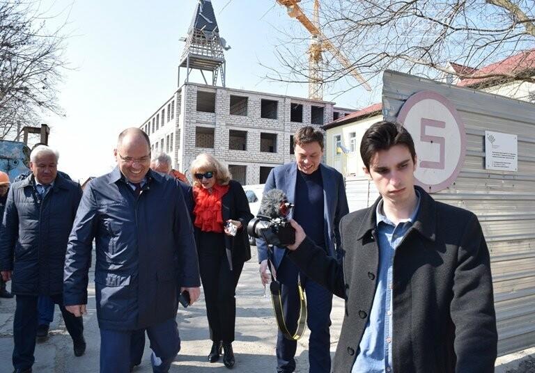 Черноморск с рабочим визитом посетил губернатор области Максим Степанов (видео), фото-9