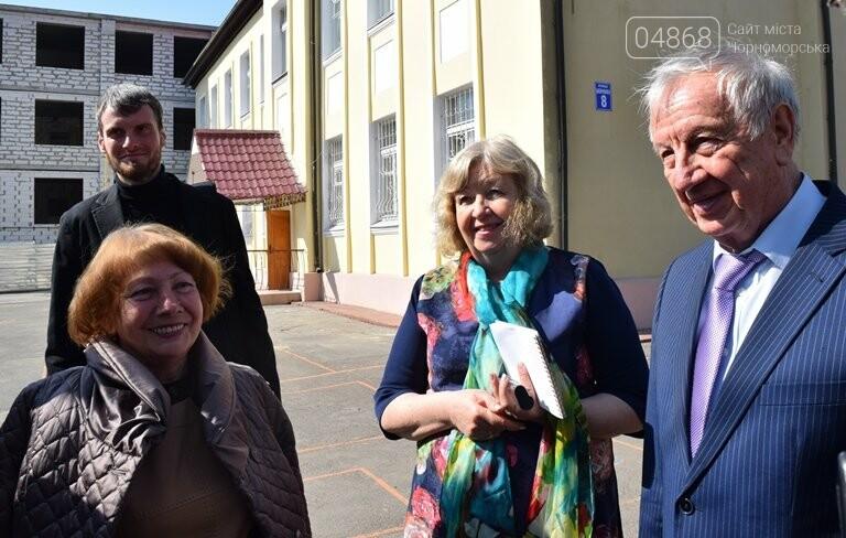 Черноморск с рабочим визитом посетил губернатор области Максим Степанов (видео), фото-6