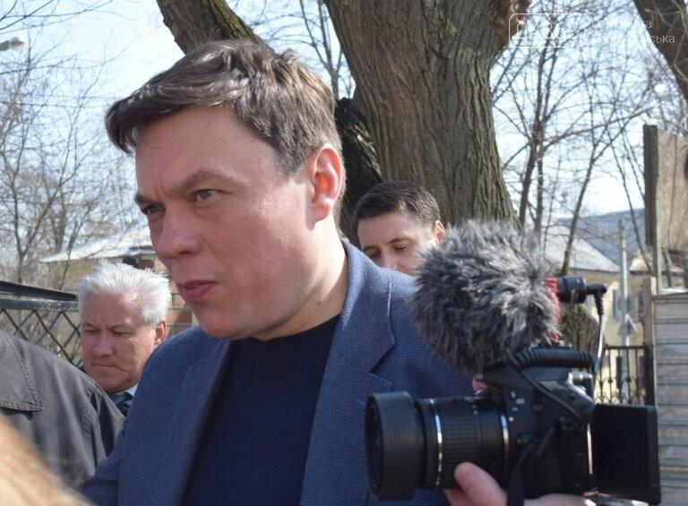 Черноморск с рабочим визитом посетил губернатор области Максим Степанов (видео), фото-10