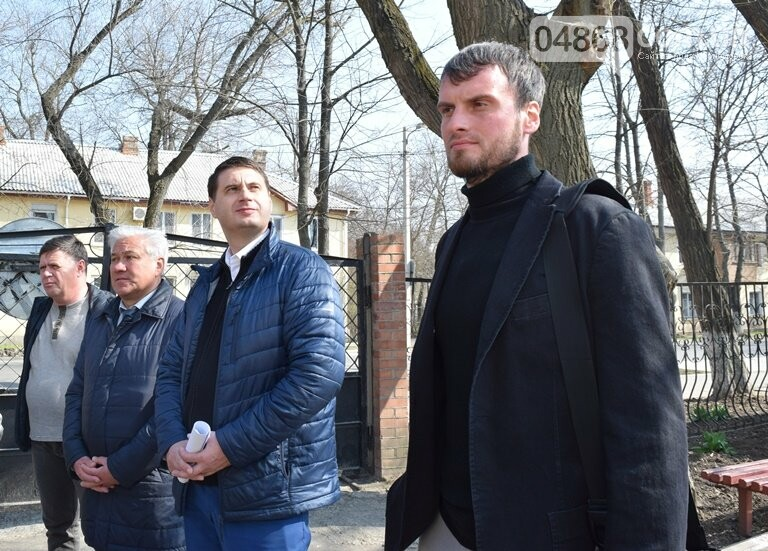 Черноморск с рабочим визитом посетил губернатор области Максим Степанов (видео), фото-13