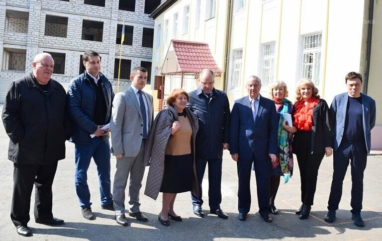 Черноморск с рабочим визитом посетил губернатор области Максим Степанов (видео), фото-7