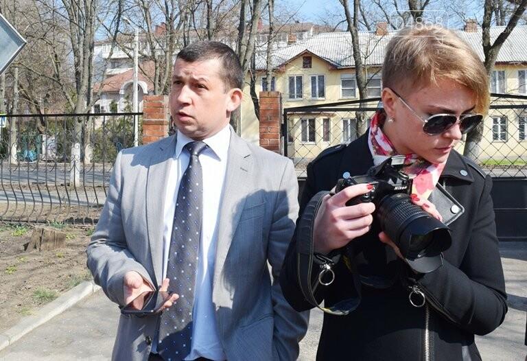 Черноморск с рабочим визитом посетил губернатор области Максим Степанов (видео), фото-8