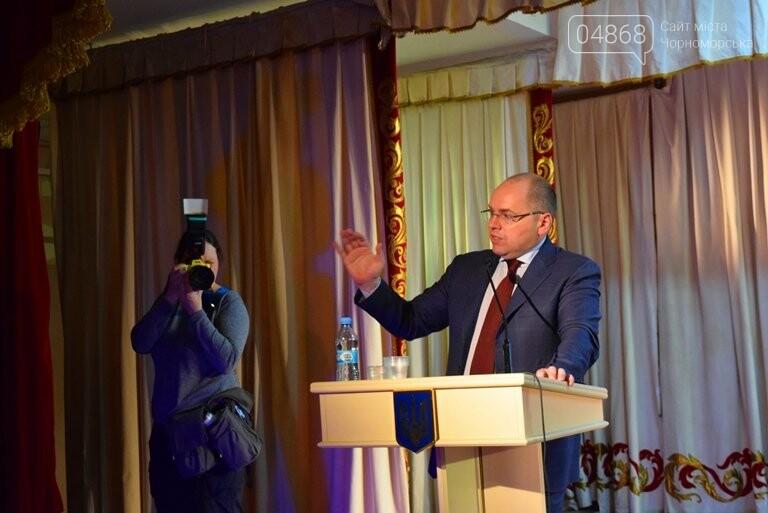 «Мы – драйверы образовательных реформ»: Максим Степанов встретился с учителями Черноморска, фото-5
