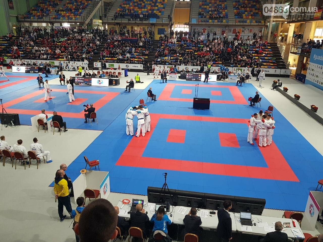 Сборная Украины по карате вышла в финал Чемпионата Европы, фото-4