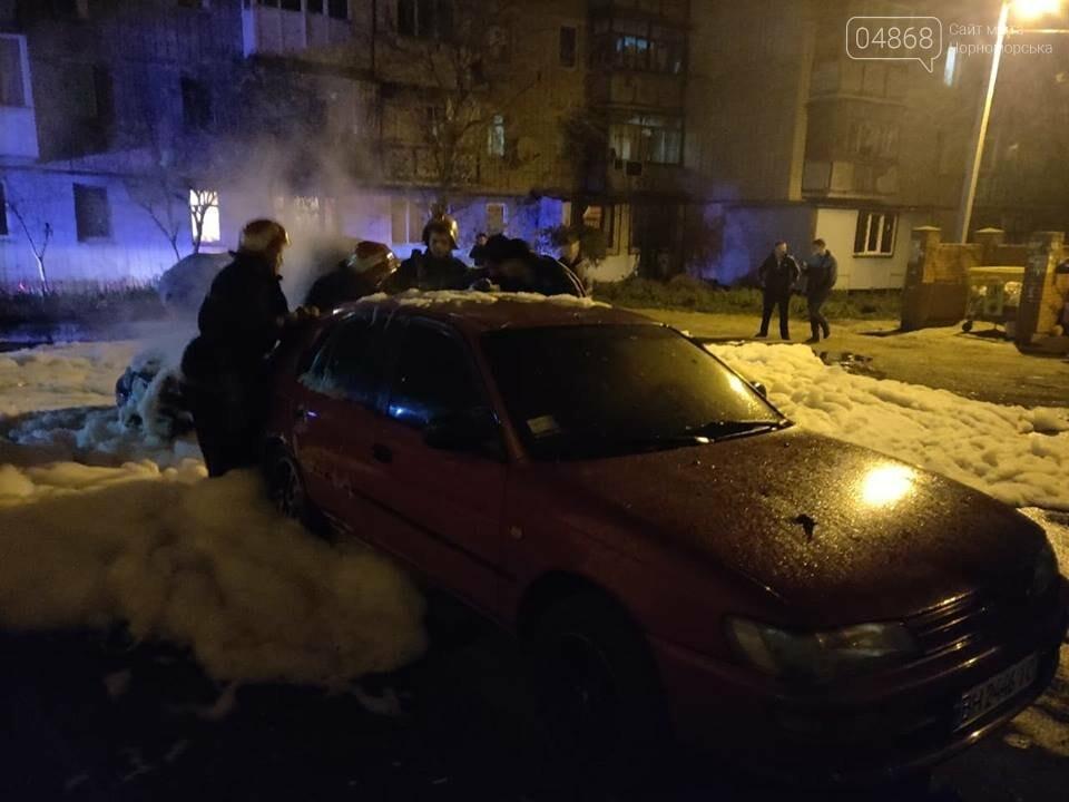 В пасхальную ночь в Черноморске горело три автомобиля, фото-4