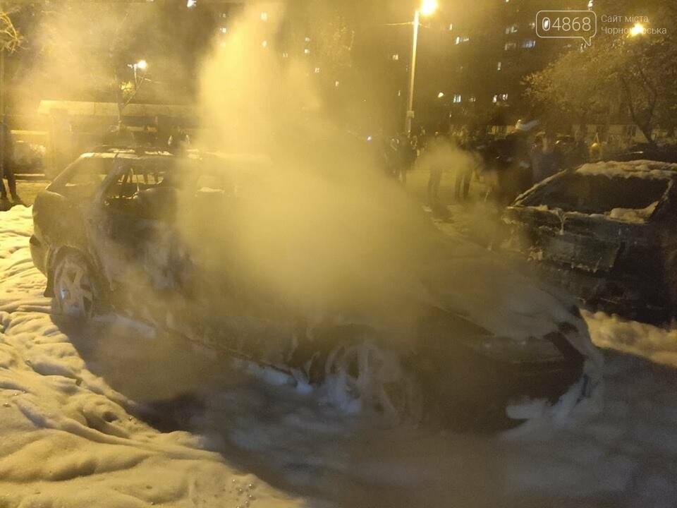 В пасхальную ночь в Черноморске горело три автомобиля, фото-13