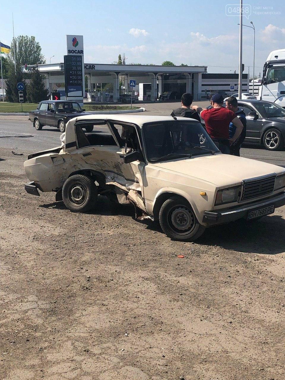 ДТП на трассе Одесса - Черноморск, есть пострадавшие, фото-1