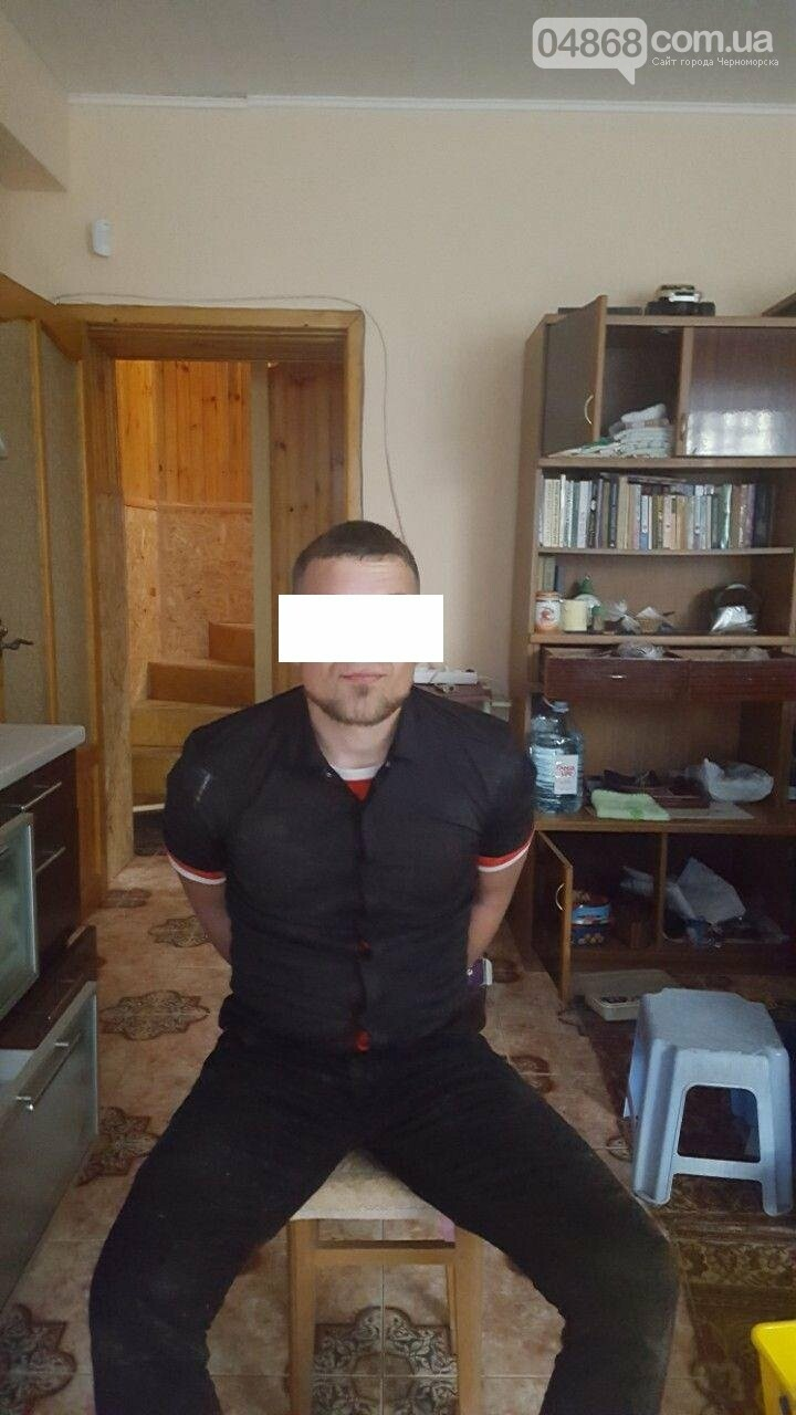 В Черноморске задержан вор-домушник , фото-1