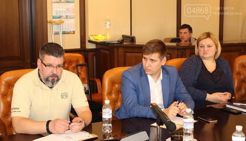 В Черноморске заработает инновационная система мониторинга загрязнения акватории порта, фото-1