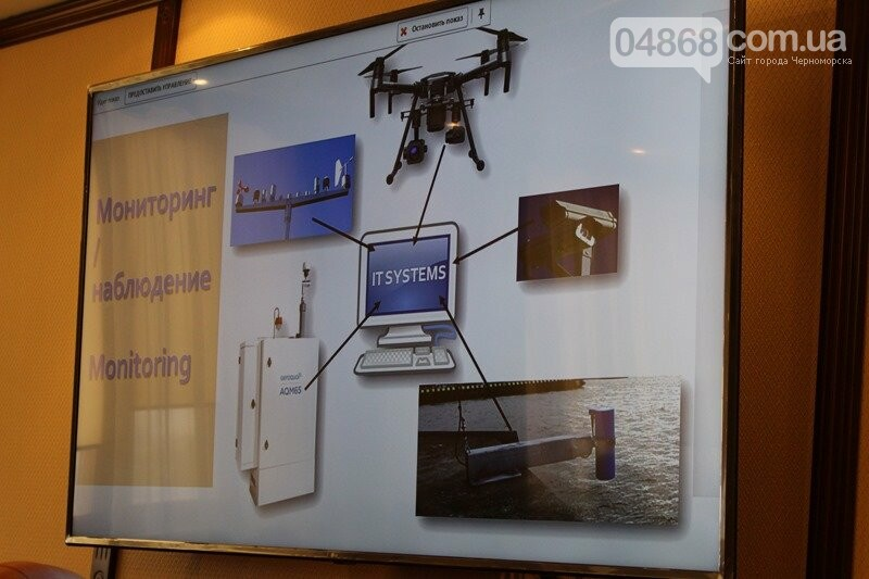 В Черноморске заработает инновационная система мониторинга загрязнения акватории порта, фото-6