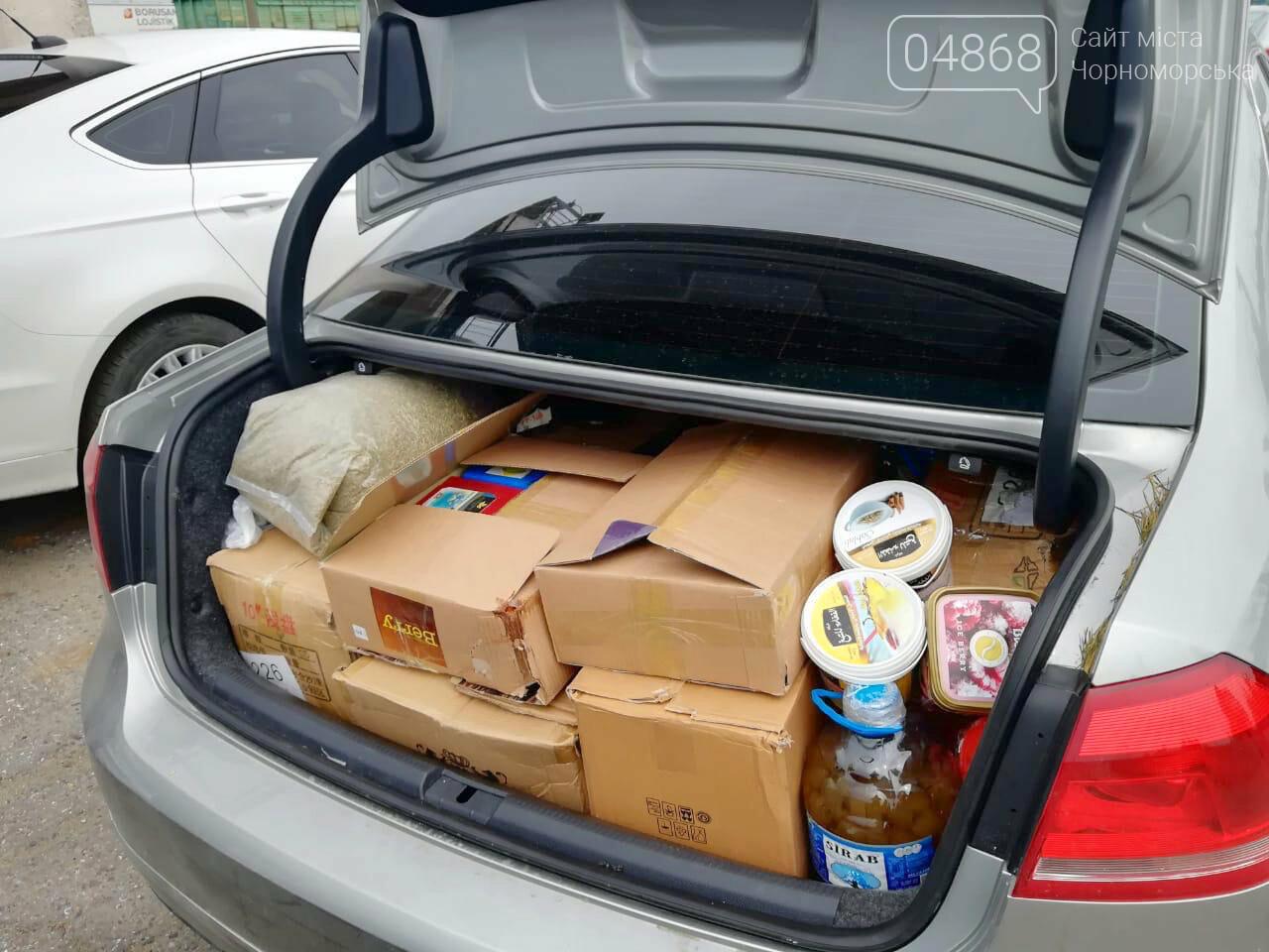 Черноморские пограничники обнаружили контрабандный табак, фото-2