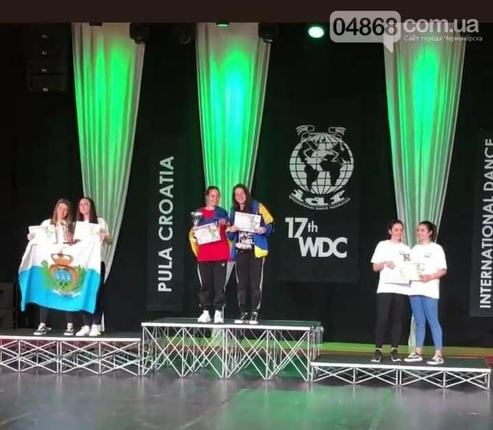 Танцевальній коллектив «SPLASH» из Черноморска – чемпионы мира!, фото-13