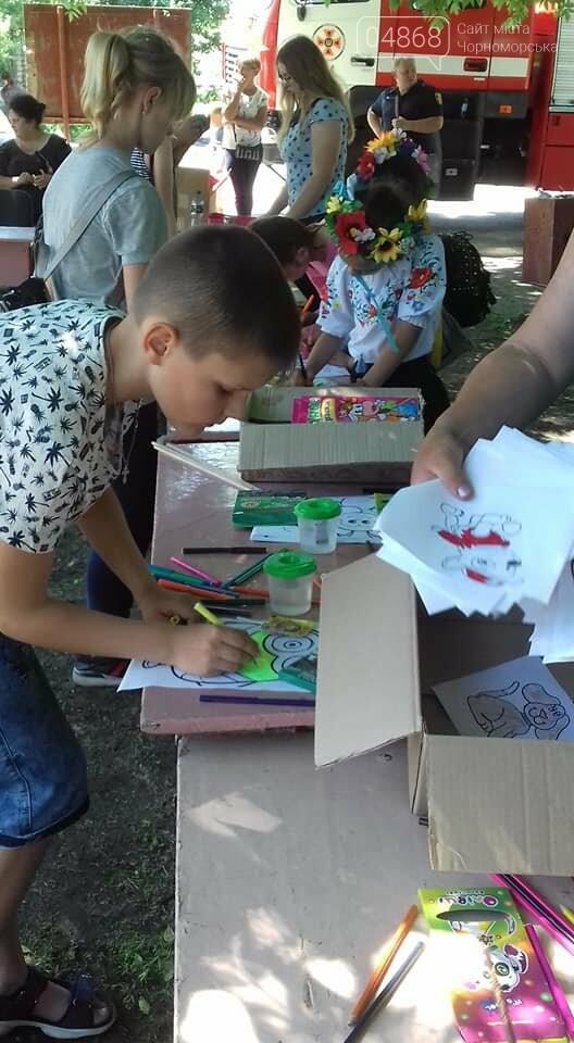 Представители БПП «Солидарность» из Черноморска передали помощь детям в Луганскую область, фото-2