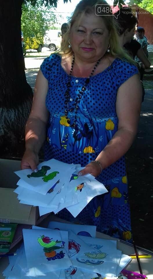 Представители БПП «Солидарность» из Черноморска передали помощь детям в Луганскую область, фото-7