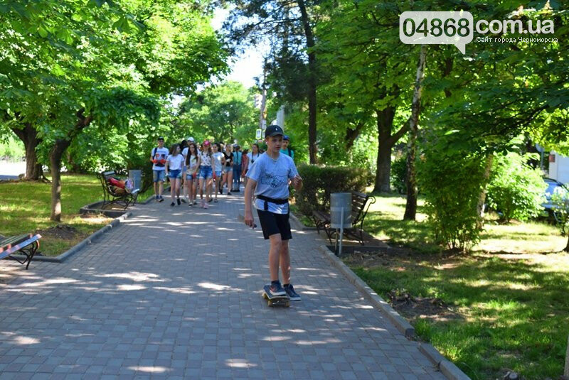 В Черноморске открыт сезон детских лагерей, фото-1