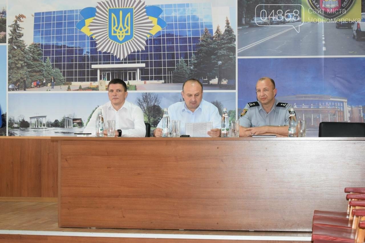 В Черноморске представили нового начальника полиции, фото-2