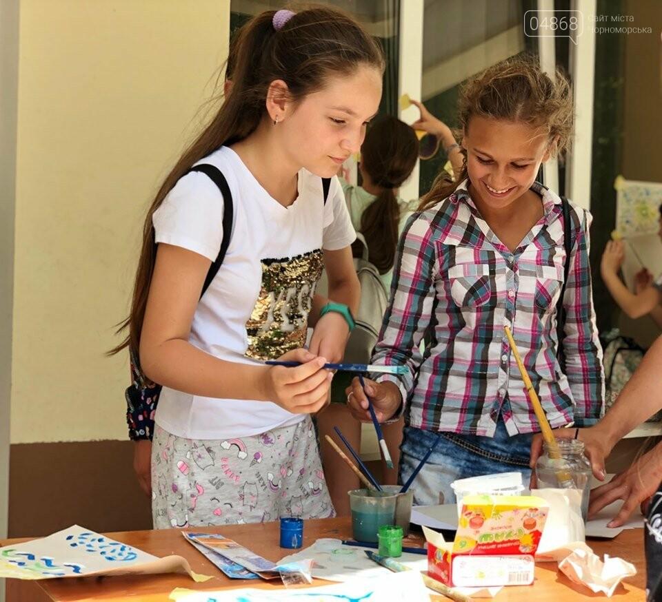В Черноморске начал работу детский лагерь «Лидер-2019», фото-6