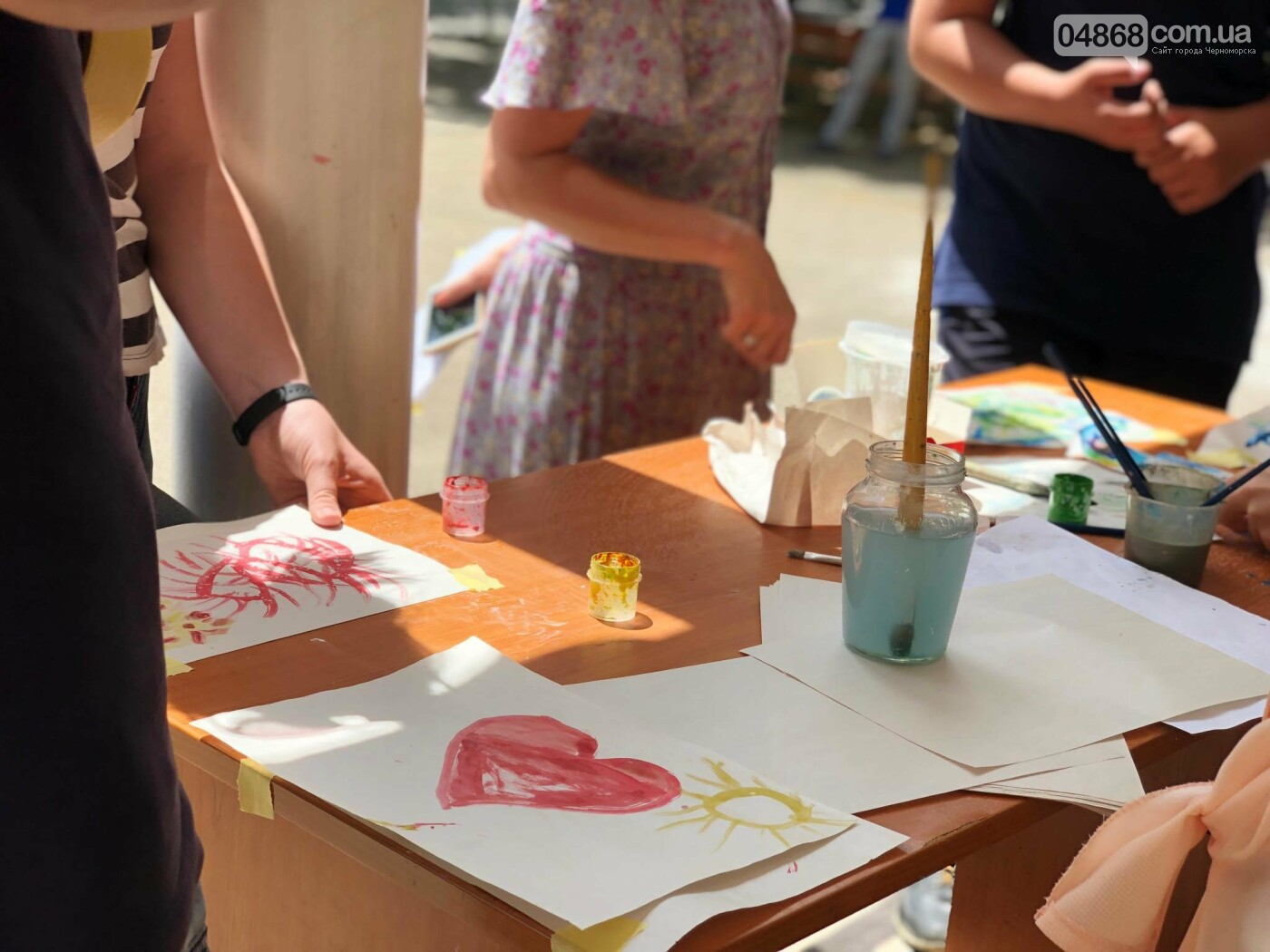 В Черноморске начал работу детский лагерь «Лидер-2019», фото-4